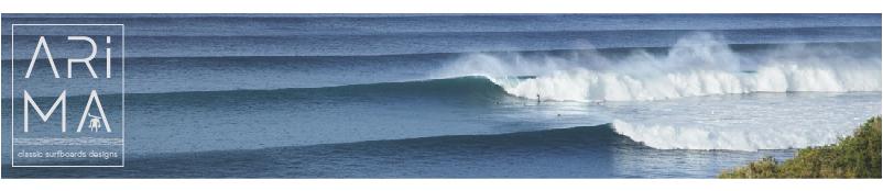 arima surfboards wabe