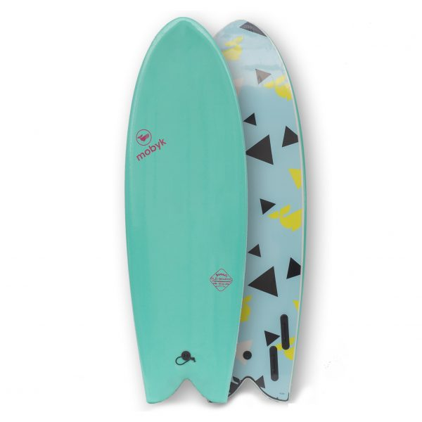 Mobyk surfboards 5´8 turquoise
