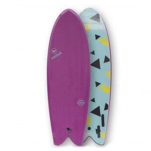Mobyk surfboards 5´8 violet jade