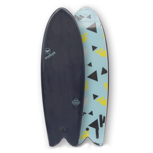 Mobyk surfboards 5´8 midnight blue