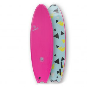Mobyk surfboards 6´0 pink
