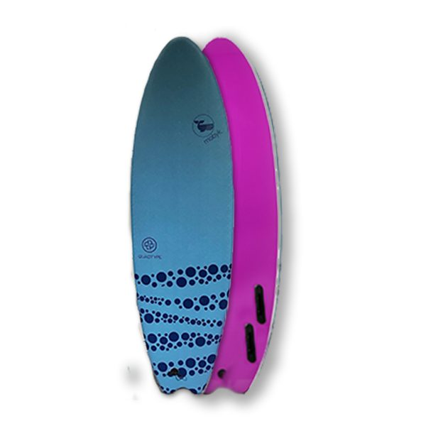Mobyk surfboards 6´0 steel blue