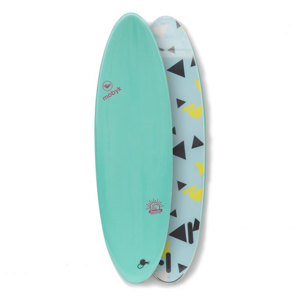 Mobyk surfboards 6´4 turquoise