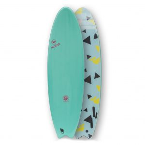 Mobyk surfboards 6´6 turquoise