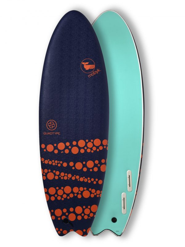 Mobyk surfboards 6´0 dark blue