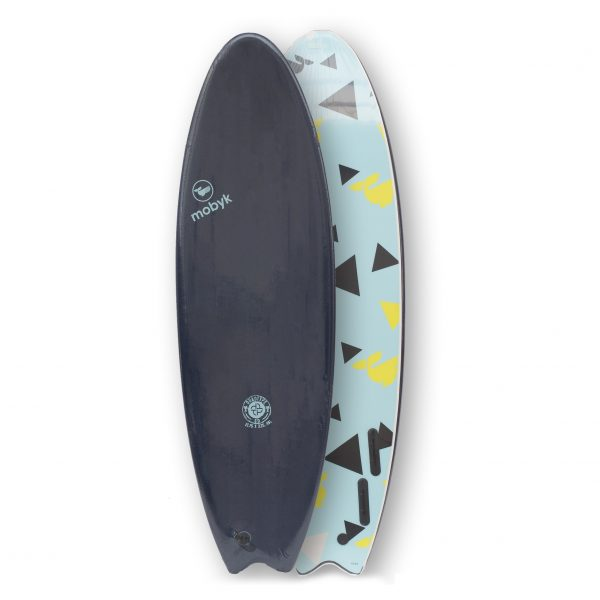 Mobyk surfboards 6´0 midnigth blue
