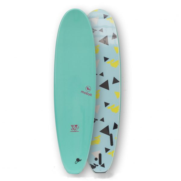 Mobyk surfboards 7´0 turquoise