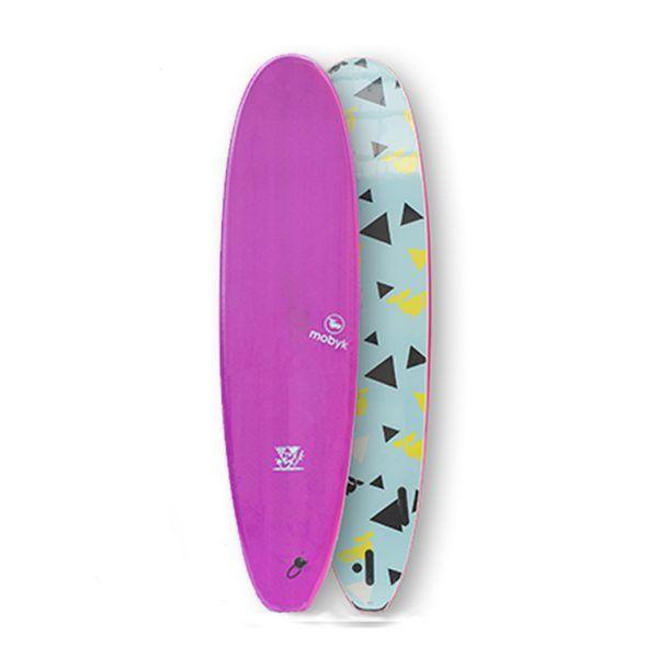 Mobyk surfboards 7´0 violet jade