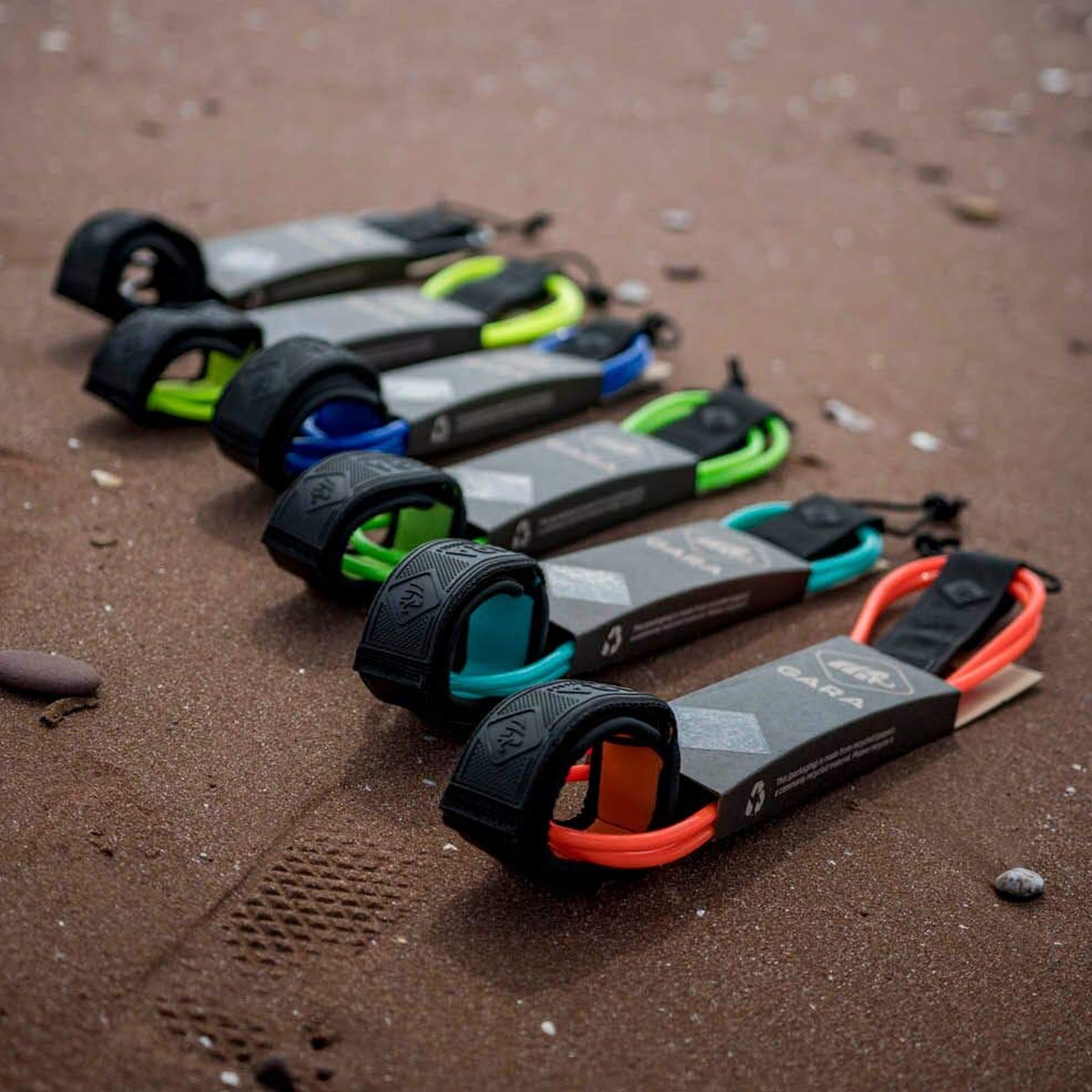 all colors gara surf leashes