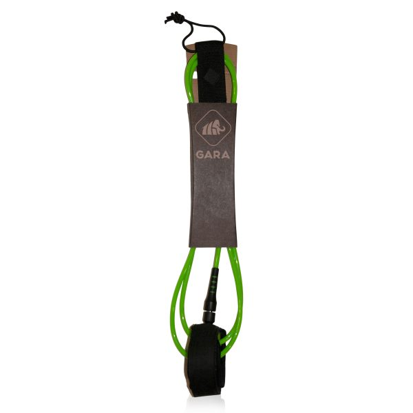lime gara surf leash